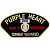 14309 - World War II Combat Wounded Purple Heart Pin