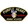 14311 - Vietnam Combat Wounded Purple Heart Pin