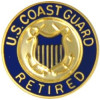 14378 - United States Coast Guard Retired Insignia Pin