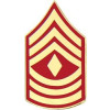 14392 - Marine Corps First Sergeant (1stSgt / E-8) Rank Insignia Pin