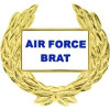 14496 - United States Air Force Brat with Wreath Pin