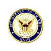 14503 - My Sister Is In The Navy Insignia Pin