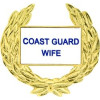 14528 - Coast Guard Wife with Wreath Pin