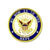 14625 - My Mom Is In The Navy Insignia Pin