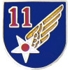 14696 - 11th Air Force Pin