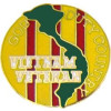 14765 - Vietnam Veteran God Duty Country Pin