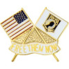 14811 - United States Flag and POW/MIA Insignia Flag Pin