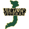 14830 - Vietnam Shaped Veteran Pin