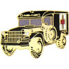 14865 - Military Ambulance Pin
