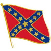 14877 - Confederate Flag Pin