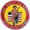 14920 - The Right To Keep And Bear Arms Pin