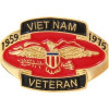14946 - Vietnam Veteran 1959 - 1975 Pin