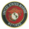 15040 - United States Marine Corps Retired Insignia Pin