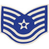 15079 - United States Air Force Technical Sergeant (TSgt/E-6) Pin