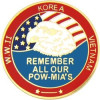 15114 - Remember All Our POW/MIA Pin