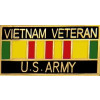 15627 - Vietnam Veteran United States Army with Ribbon Pin