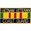 15631 - Vietnam Veteran United States Coast Guard with Ribbon Pin