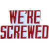 15640 - We're Screwed Script Pin