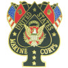 15768 - United States Marine Corps Spade Pin