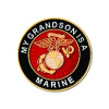 15813 - My Grandson Is A Marine Insignia Pin