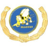 15909 - US Navy Seabees Insignia with Wreath Pin
