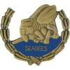 15910 - US Navy Seabees Insignia with Wreath Pin