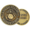 22300 - United States Marine Corps Insignia Challenge Coin