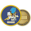 22328 - United States Navy Seabees Insignia Challenge Coin