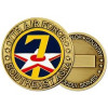 22330 - 7th Air Force Challenge Coin