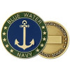 22334 - United States Navy Blue Water Navy Challenge Coin