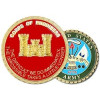 22363 - Corps of Engineer Castle Challenge Coin