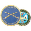 22364 - United States Army Infantry Challenge Coin