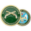 22365 - Military Police (MP) Crossed Pistols Challenge Coin