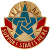 512807 - COMBINED ARMY SUPPORT COMMAND (CASCOM) FORT LEE CREST