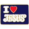 6324 - I Love Jesus Pin