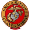 98039 - Once a Marine Always a Marine Magnet