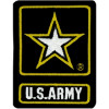 "FLF1876 - US Army Back Patch (10"" x 13"")"
