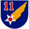 FL1011 - 11th Air Force Small Patch