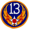 FL1013 - 13th Air Force Small Patch