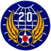 FL1016 - 20th Air Force Small Patch