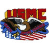 FL1147 - US Marine Corps Death Before Dishonor Small Patch