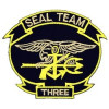FL1272 - Seal Team 3 Small Patch