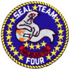 FL1273 - Seal Team 4 Small Patch
