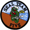 FL1274 - Seal Team 5 Small Patch