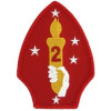 FL1291 - 2nd Marine Divison Small Patch