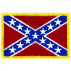 FL1300 - Confederate Flag Small Patch