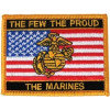 FL1668 - US Marine Corps The Few The Proud Small Patch