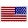 FL1672 - US Flag (Right) White Border Small Patch