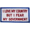 FL1766 - I Love My Country Small Patch