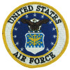 FL19 - US Air Force Small Patch (Round)